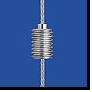 Drahtseilhaltergewinde M6 für Stahlseil 1,0 mm