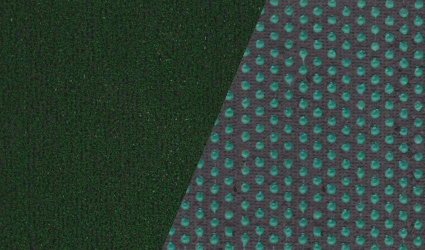 Grün mit Drainage Rückenaussattung 1K75