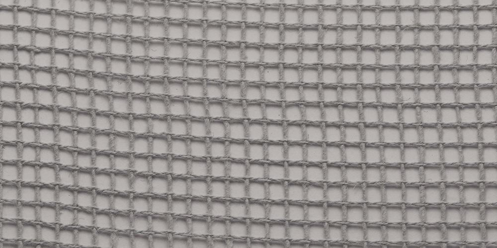 Gitternetz Baumwolle | Grau 311